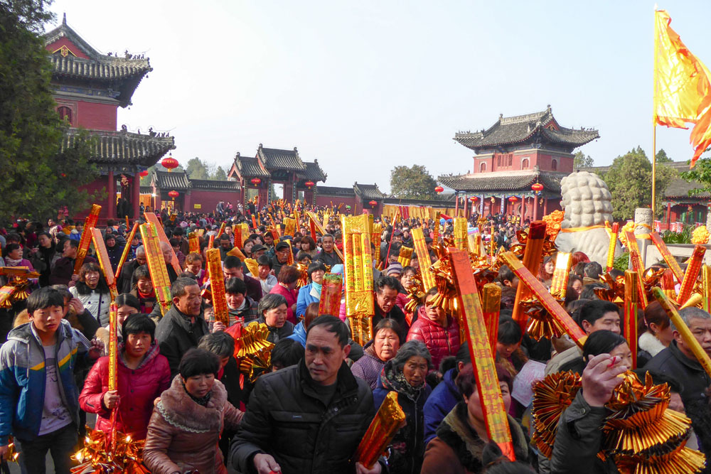 The temple fair in Zhoukou